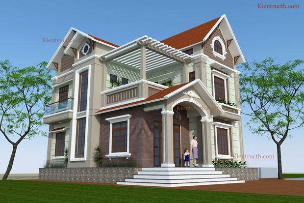 Thiết kế nhà tại Thái Bình 01