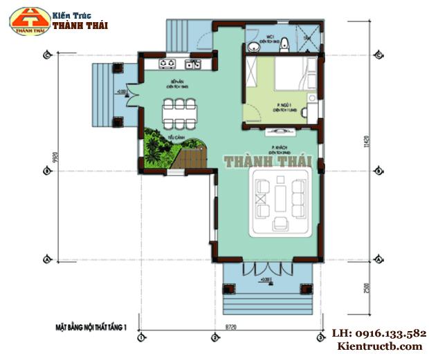 Thiết kế biệt thự hiện đại tại Đông Hưng, Thái Bình 01
