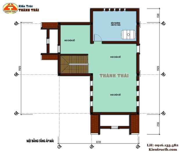 Thiết kế biệt thự hiện đại tại Đông Hưng, Thái Bình 03