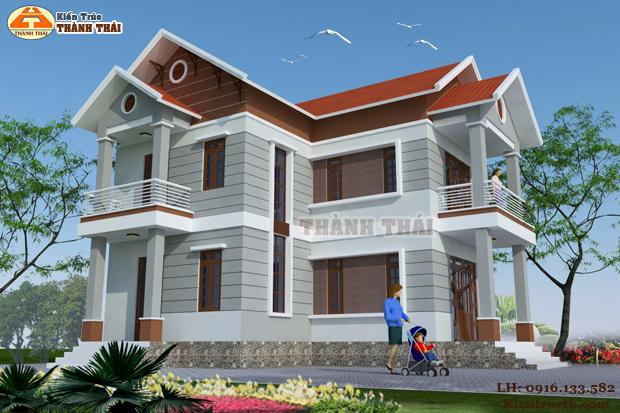 Thiết kế biệt thự hiện đại tại Đông Hưng, Thái Bình 05
