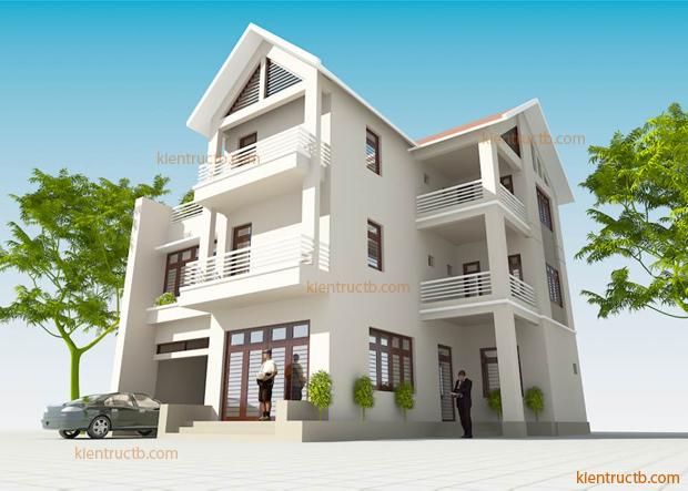 thiết kế biệt thự tại Nam Định 7