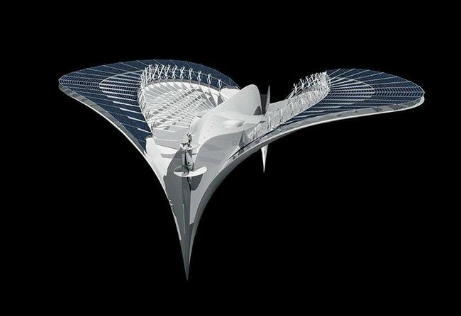 thư viện các công trình kiến trúc độc đáo trên thế giới 10
