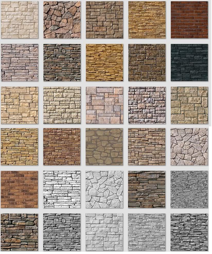 Mẫu đá ốp tường trang trí 05