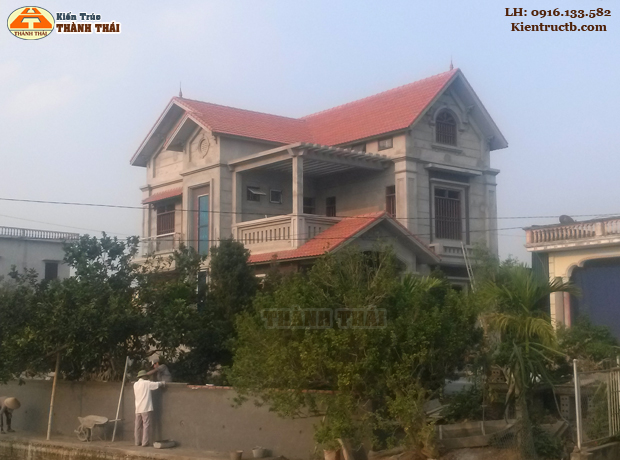 Thiết kế nhà ở tại Thái Bình 03