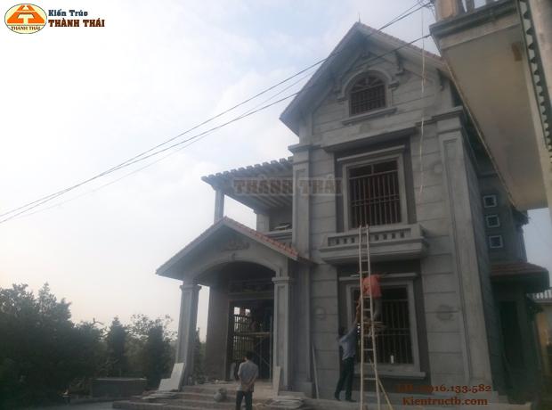 Thiết kế nhà ở tại Thái Bình 05