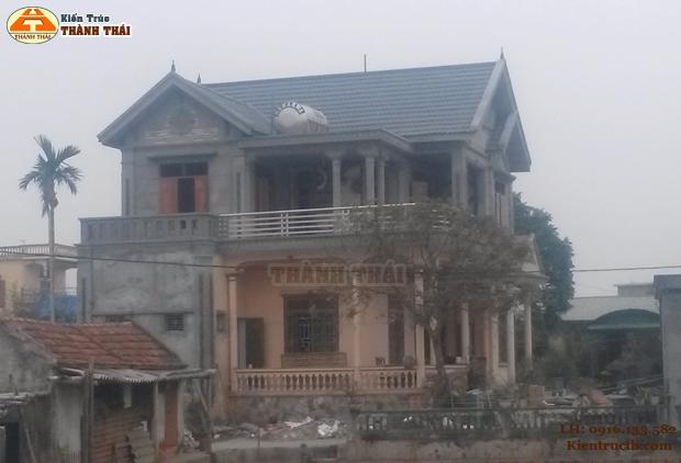 Thiết kế nhà ở tại Thái Bình 07