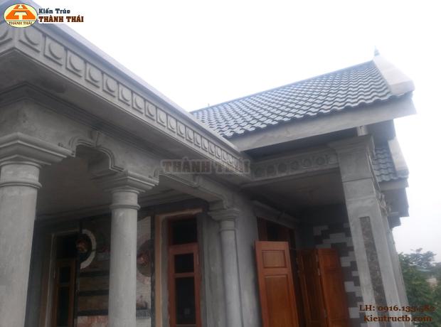 Thiết kế nhà ở tại Thái Bình 09