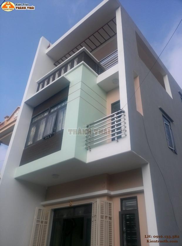 Thiết kế nhà ở tại Thái Bình 11