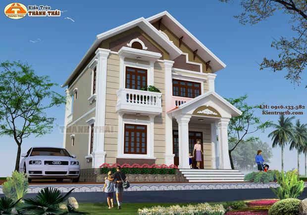 Thiết kế nhà ở tại Thái Bình 25