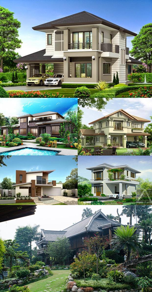 mẫu thiết kế nhà vườn đẹp 06
