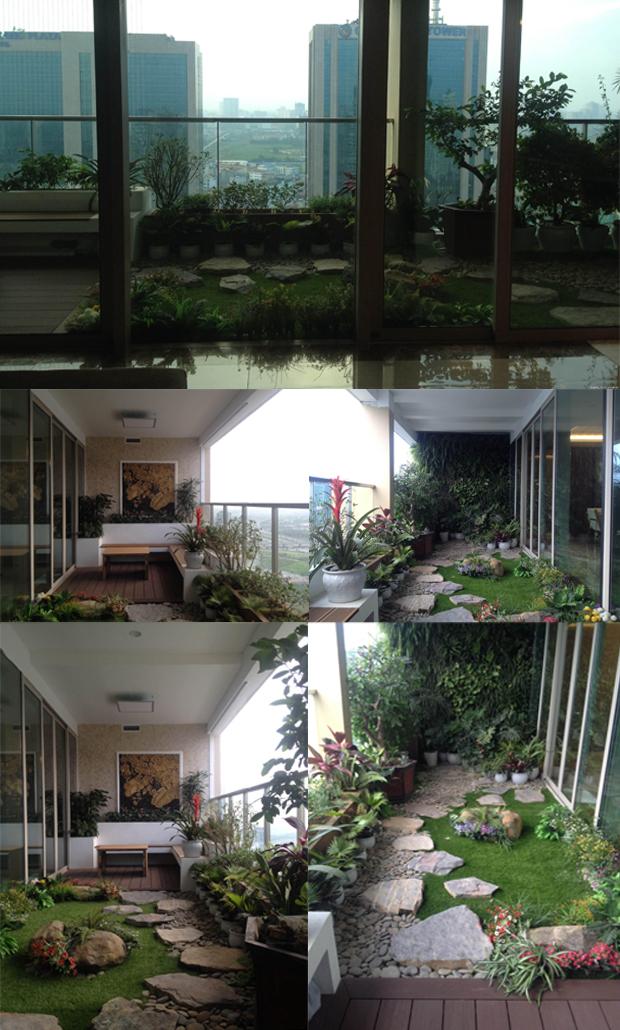 thiết kế sân vườn tiểu cảnh 01