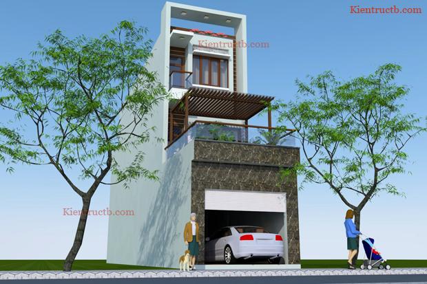 Thiết kế nhà tại Thái Bình 02