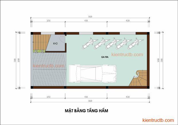 Thiết kế nhà lô tại Nam ĐỊnh 02