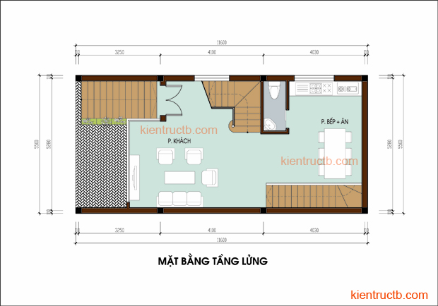 Thiết kế nhà lô tại Nam ĐỊnh 03