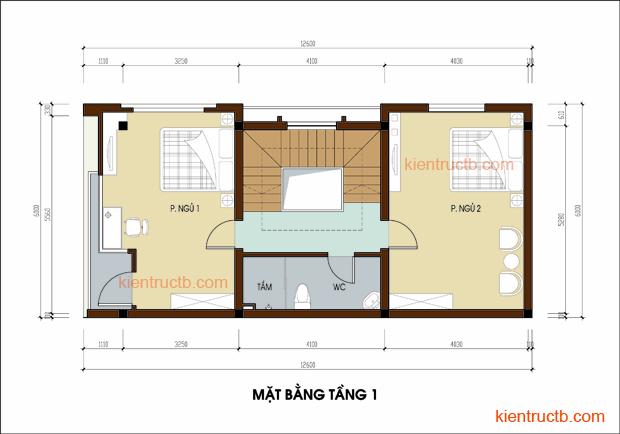 Thiết kế nhà lô tại Nam ĐỊnh 04