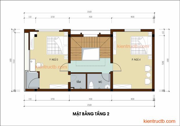 Thiết kế nhà lô tại Nam ĐỊnh 05