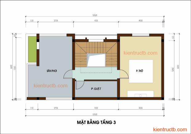 Thiết kế nhà lô tại Nam ĐỊnh 06