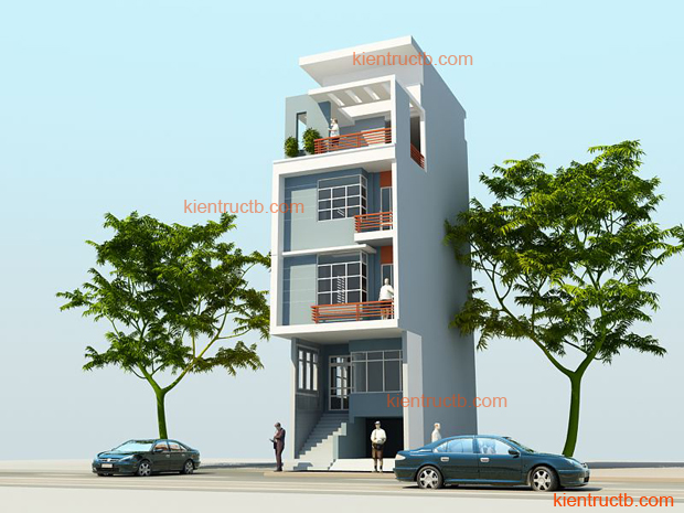 Thiết kế nhà lô tại Nam ĐỊnh 09