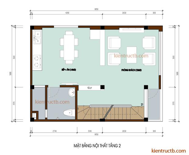 thiết kế nhà tại Hải Dương 3