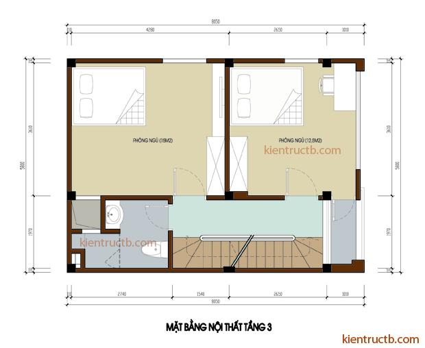 thiết kế nhà tại Hải Dương 4