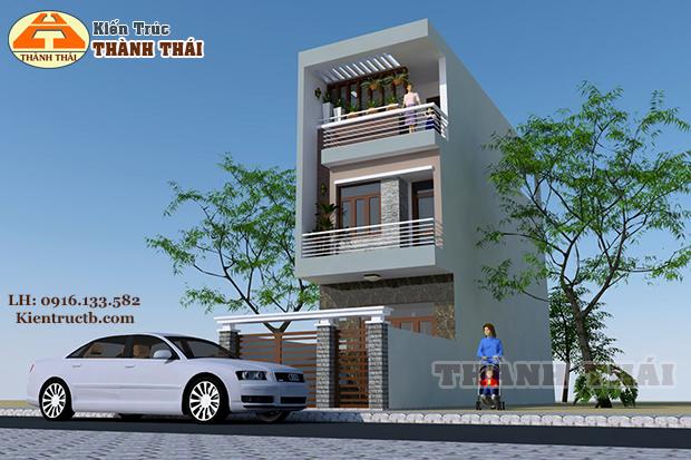 Thiết kế nhà tại Thái Bình 03