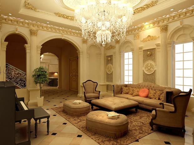 Mẫu nội thất phòng khách đẹp 01