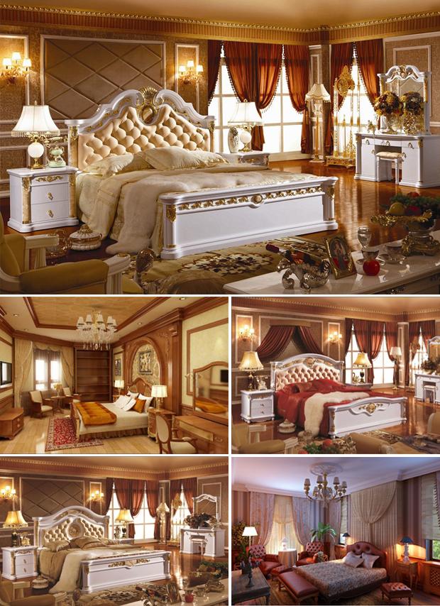 Mẫu nội thất cổ điển Châu Âu 03