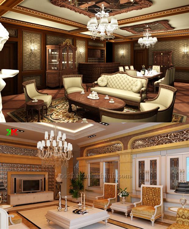 Mẫu nội thất phòng khách đẹp 06