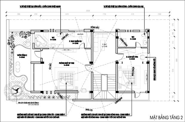 thiết kế nhà theo phong thủy 03