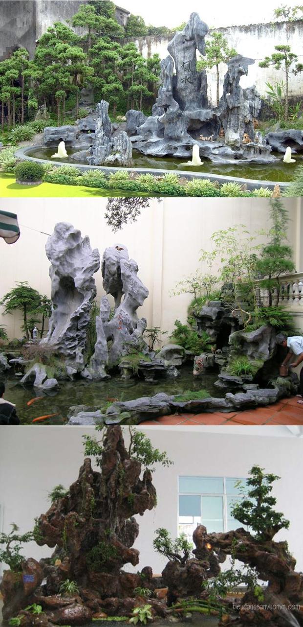 thiết kế sân vườn tiểu cảnh 06